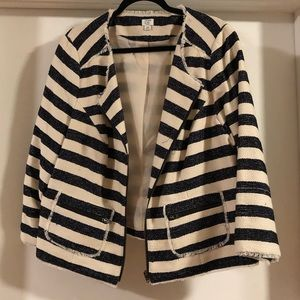Crown and Ivy striped jacket